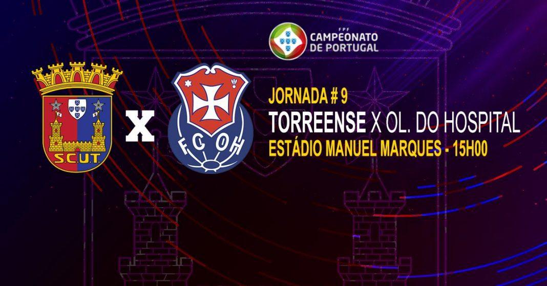 Torreense recebe Oliveira do Hospital este domingo