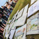 4.º Encontro Internacional de Desenho de Rua reuniu cerca de 150 desenhadores