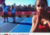 Beatriz Andrade termina em 15º lugar na prova de100m