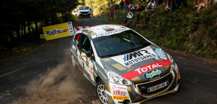 Pedro Antunes vai para aquinta ronda da competição da Peugeot Portugal e Espanha