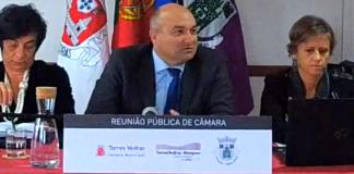 Câmara de Torres Vedras aprova orçamento de 75,2 milhões de euros para 2019