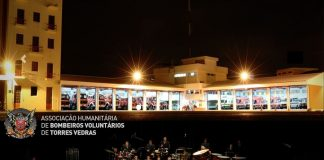 Concerto da Banda dos Bombeiros Voluntários de Torres Vedras adiado para sexta-feira