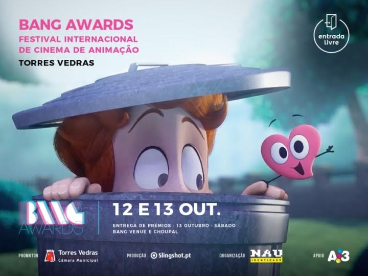 Festival BANG Awards: cor, luz e animação em Torres Vedras