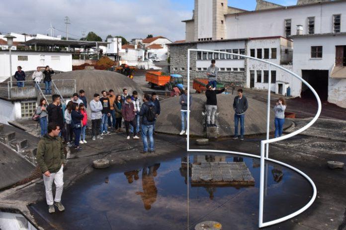 Finalistas do Jogo do Município visitaram a Adega Cooperativa de Carvoeira