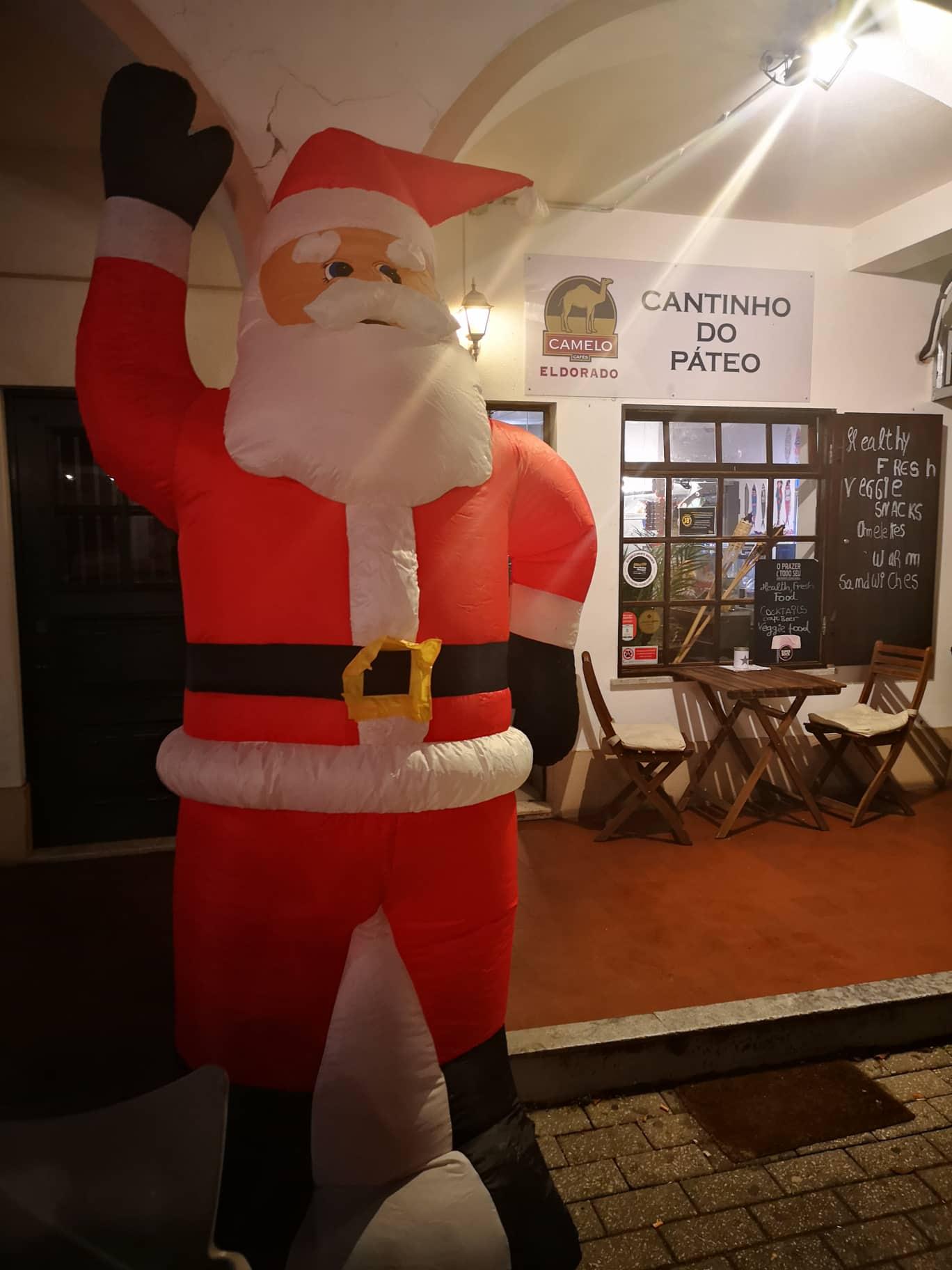 As iluminações de natal também vão ser inauguradas em Santa Cruz