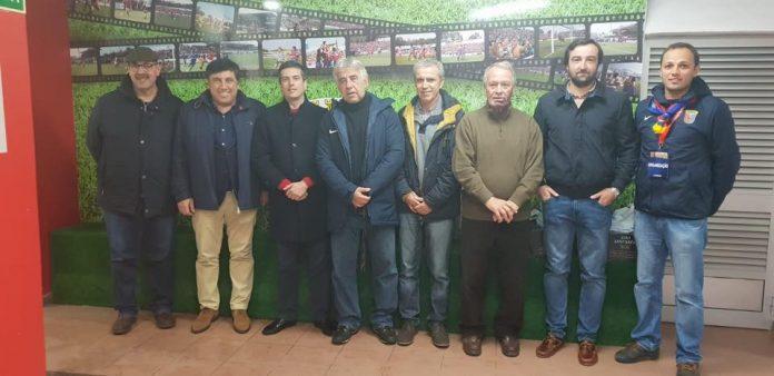 Torreense recebeu a visitada Direção da AFL