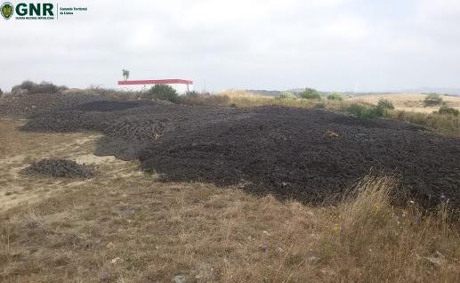 Contraordenações a transporte e deposição irregulares de lamas de estação pública