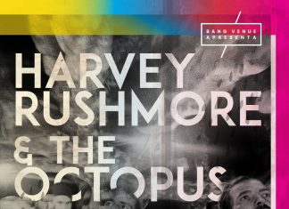 Concerto Harvey Rushmore & The Octopus amanhã na Bang Venue