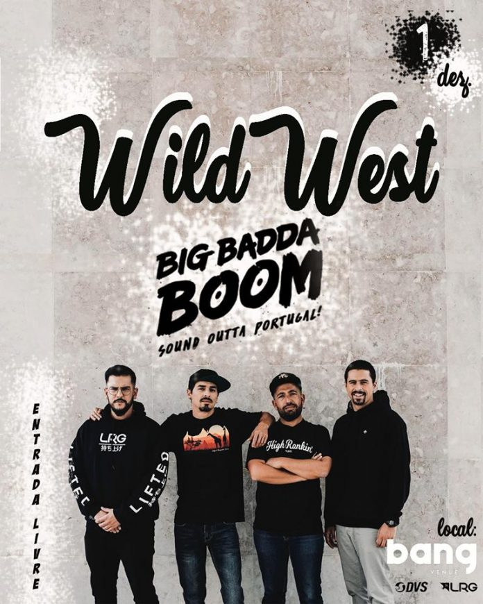 Wild West este sábado na Bang Venue