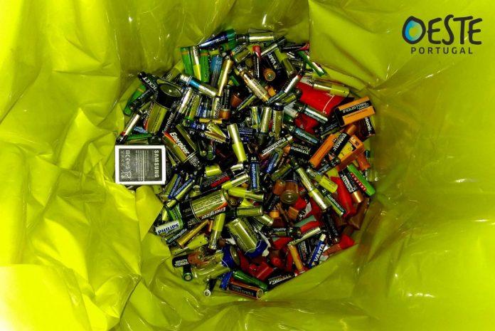 Comunidade Intermunicipal do Oeste promove recolha solidária de pilhas usadas