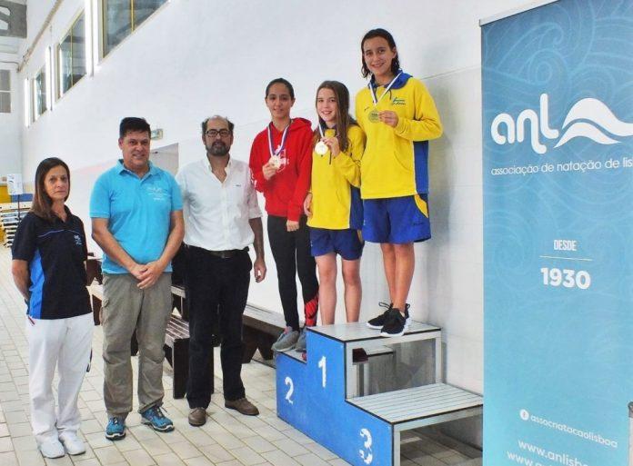 Maria Garcell conquista 2º lugar no Torneio do Nadador Completo de Infantis