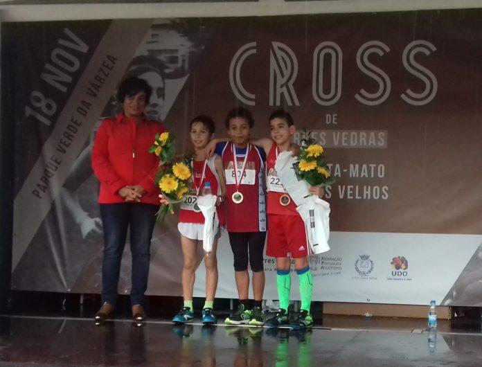 Benjamim Vitor Martins subiu ao pódio no Cross de Torres Vedras