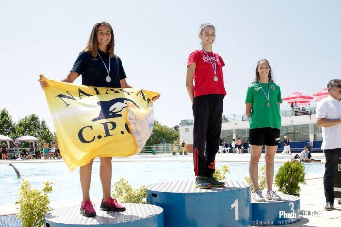 7 atletas representaram a Física no Campeonato Absolutos de Lisboa de Piscina Curta