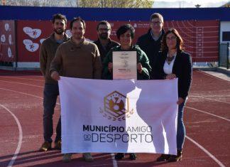 """Torres Vedras é um dos 88 municípios """"amigos do desporto"""""""