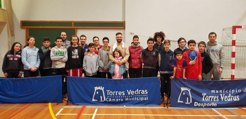 """Escola Padre Vítor Melícias acolheu mais uma iniciativa do """"Ténis de Mesa Torreense"""""""