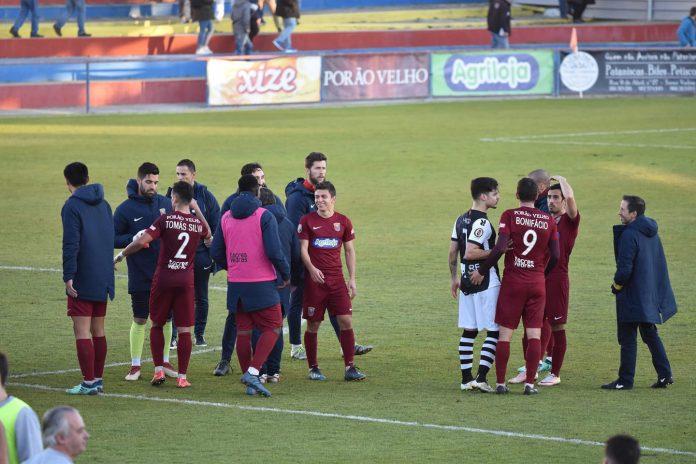 Torreense vence derby do oeste e fica a 6 pontos do 1º lugar
