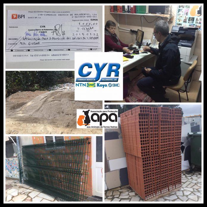 CYR iniciou o ano a apoiar instituições sem fins lucrativos