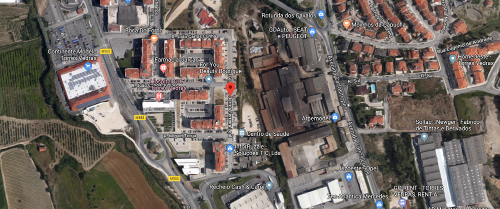 Corte de trânsito na Rua Fernando Barros Ferreira Leal