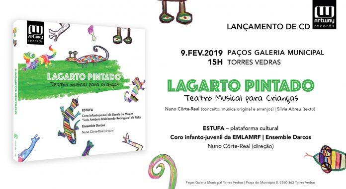 O Lagarto Pintado: coro infantil de Torres Vedras grava CD com canções tradicionais