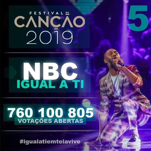 Já votou no NBC? O cantor torriense passou à final do Festival de Canção