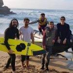 Gabriel o Pensador surfou a andas de Santa Cruz e Porto Novo