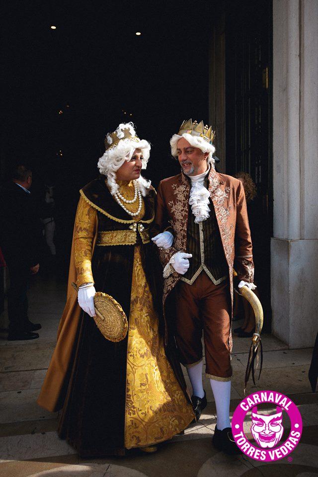 Reis do Carnaval de Torres Vedras vão visitar o primeiro-ministro