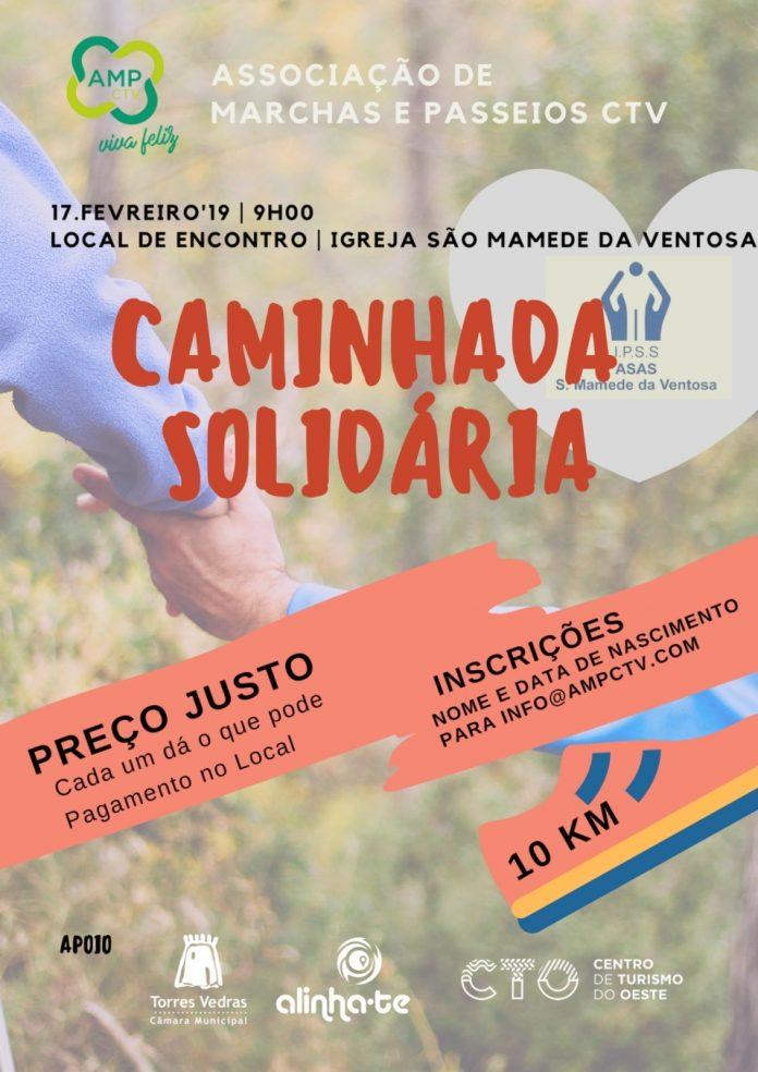 Associação de Marchas e Passeios CTV organiza caminhada solidária