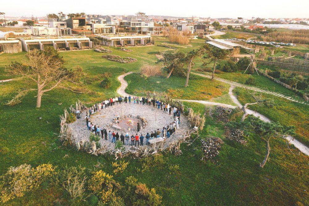 Grupo de empresas Império, Areias do Seixo e Noah junta-se em Santa Cruz numa ação de solidariedade social