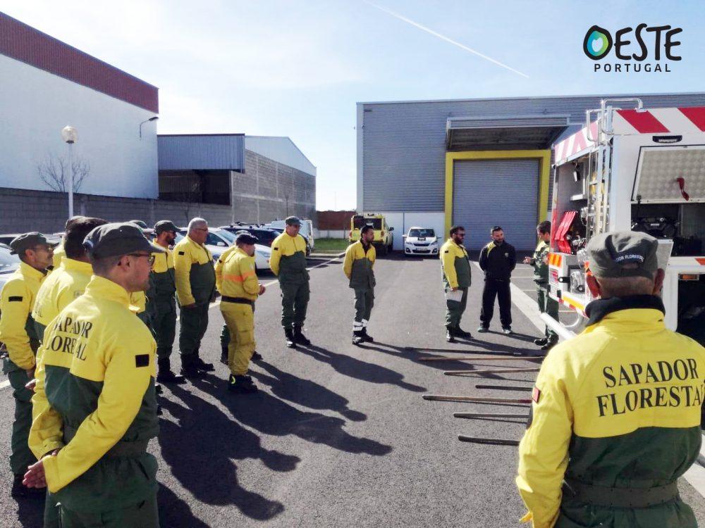 Três equipas de sapadores na prevenção e combate na região Oeste a partir de abril