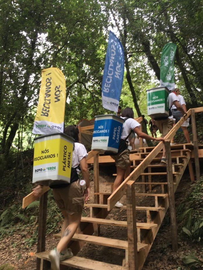 """Com a Novo Verde """"É Carnaval, ninguém recicla mal"""" em Torres Vedras"""
