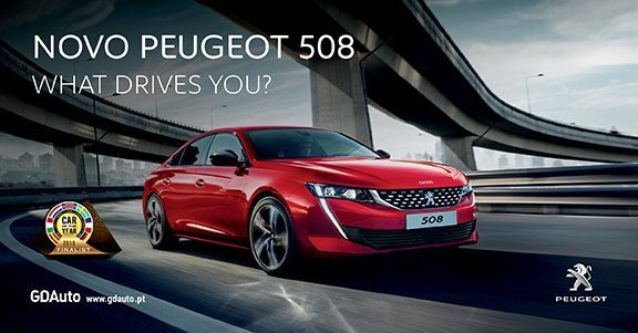 Novo Peugeot 508. What drives you?