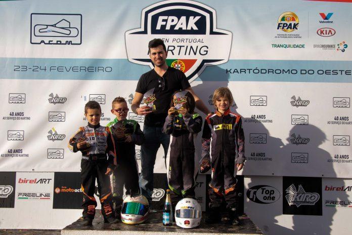 Escola de Karting do Oeste em Bom Plano no Open de Portugal