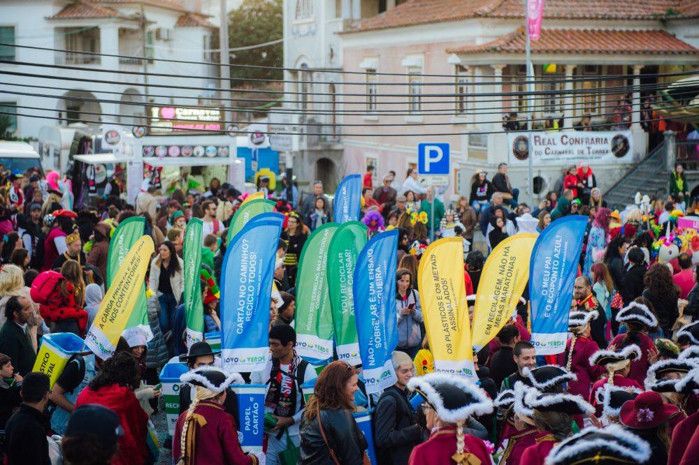 Foram recolhidas 13 toneladas de resíduos durante o Carnaval de Torres Vedras