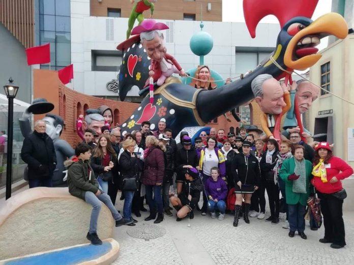 A Geminação brilhou de novo no Carnaval de Torres