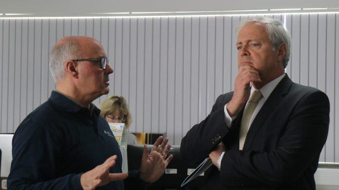 Paulo Sande visitou quatro das maiores empresas exportadoras do concelho