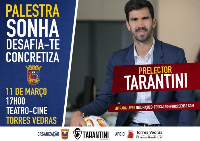 Torreense organiza palestra com Tarantini