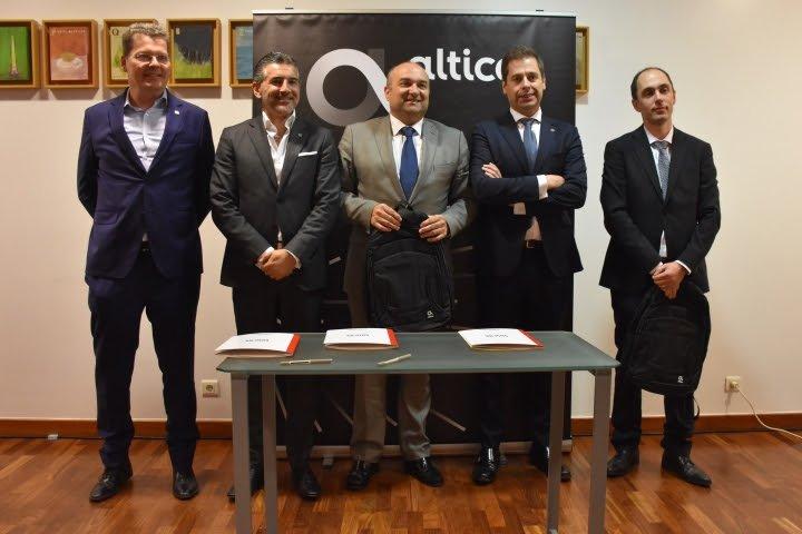 Altice Portugal estabeleceu parcerias com a FAERO e o Município de Torres Vedras