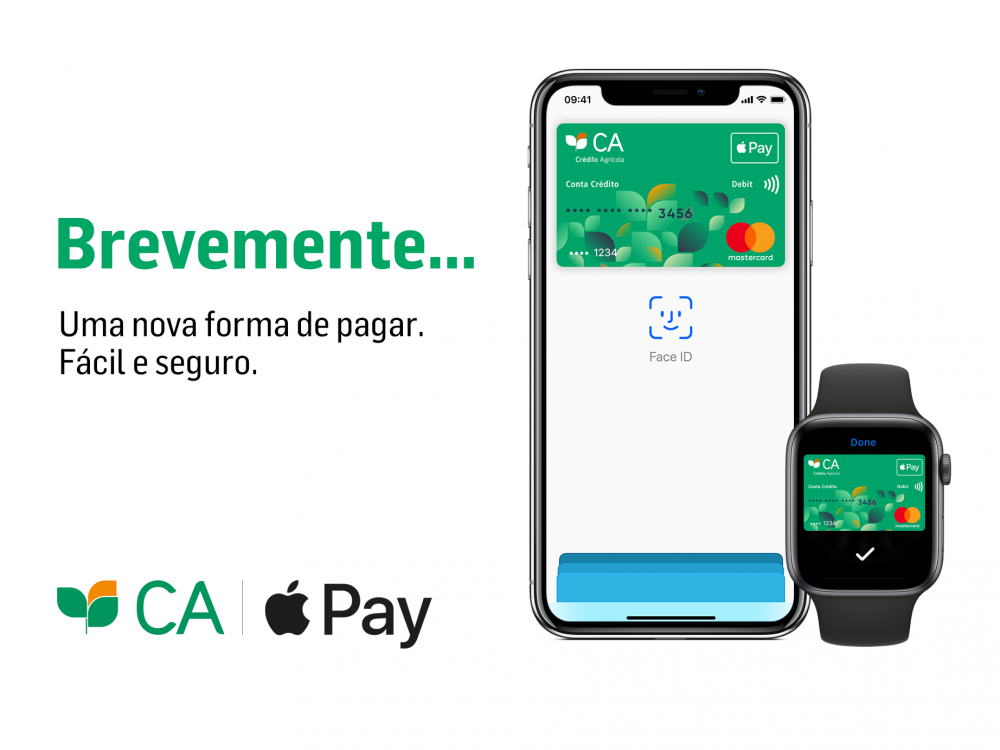 Crédito Agrícola vai disponibilizar Apple Pay