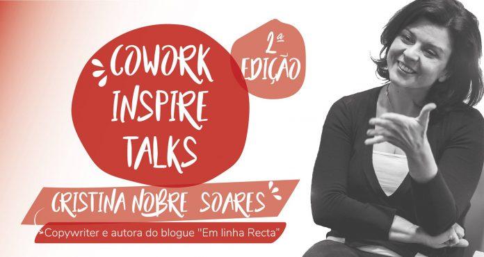 Cowork Inspire Talks: próxima edição vai dar destaque à escrita criativa