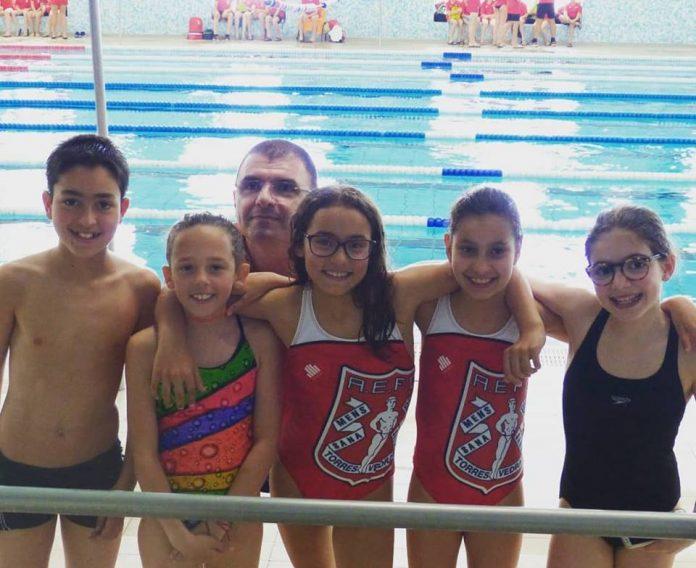 Física participou no Festival do Nadador Completo de Cadetes