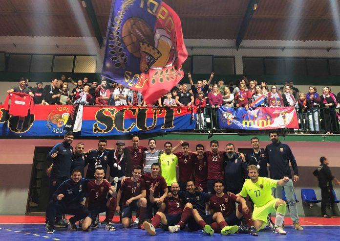 Equipa de futsal do Torreense leva clube à Divisão de Honra