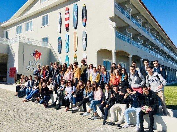 ESCO | Alunos do Curso Técnico de Turismo recebem grupo de visitantes holandeses