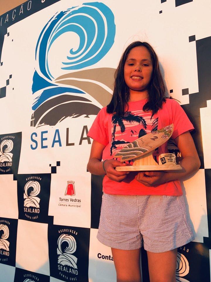 Sealander Maria Salgado sagra-se campeã no Circuito de Surf do Centro 2019