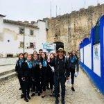 Alunos do Curso Técnico de Turismo recebem grupo de visitantes franceses