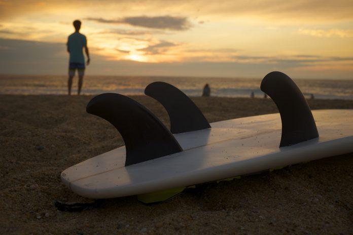 Final do Circuito de Surf do Centro apontado para Santa Cruz