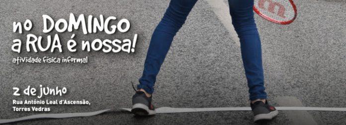 No domingo a rua é nossa! volta a promover a atividade física informal