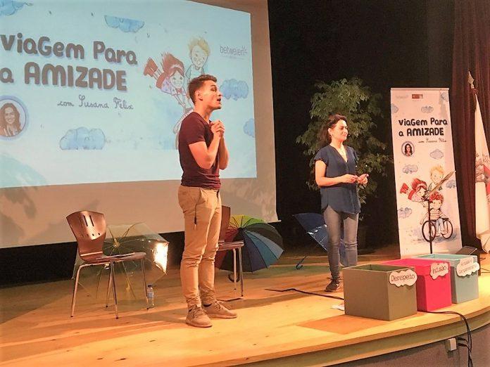 Susana Félix apresentou o projeto o pedagógico