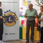 Lions Clube Torres Vedras entrega equipamento de apoio aos alunos da Unidade de multideficiência