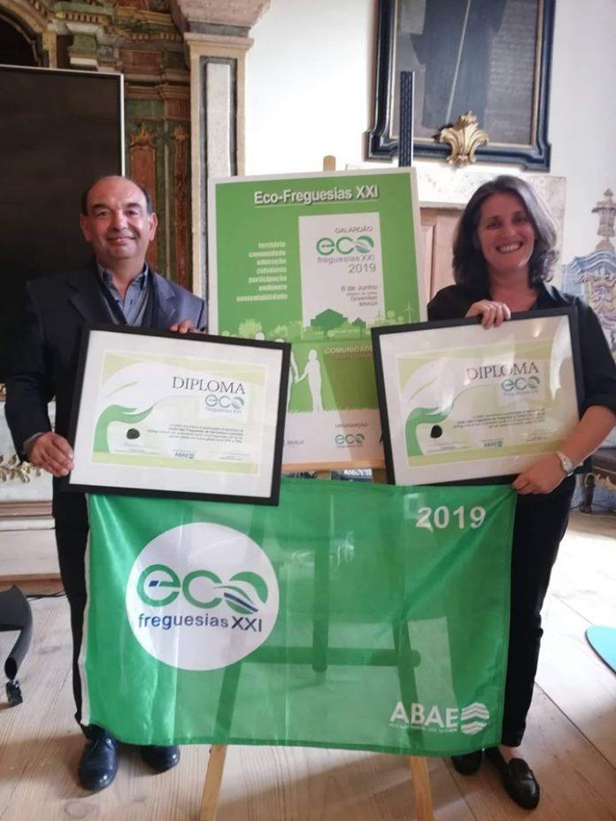 Duas freguesias de Torres Vedras receberam a distinção Eco-Freguesias XXI