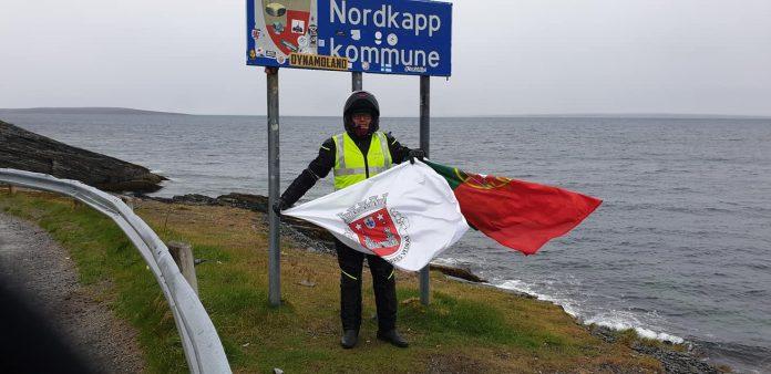 Torriense José Silva já chegou a Nordkapp na Noruega